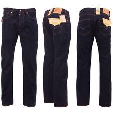 Levi's 501 Original Straight Fit Jeans Uomo Blu (onewash 0101) W30/l32 (y1s)