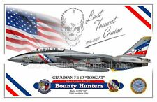 "F-14D TOMCAT VF-2 ""Bounty Hunters"" - Airplane Profile"