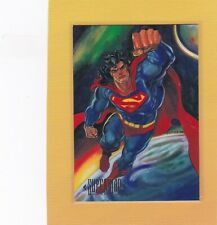 1994 SKYBOX DC MASTER SERIES #1 SUPERMAN NMMT *62951