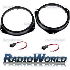 "Vauxhall Astra H / Corsa D Speaker Adaptor Rings Front Doors 6.5"" 165mm SAK-1400"