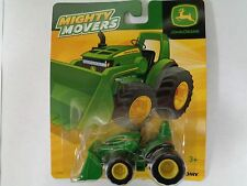 NEW John Deere Mighty Movers Tractor w/Loader, On-the-Go Fun, Ages 3+, LP53325