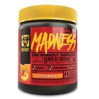 New PVL Mutant Madness 30 Servings Pre Workout Powder Supplement Energy Pump