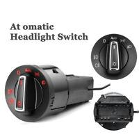 For VW Golf Mk4 Passat Polo AUTO Headlight Switch Chrome w/ Light Sensor Module