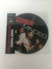Boogie Down Productions-CRIMINAL MINDED Vinyl Limited Edition Picture Disc