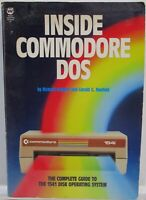 INSIDE COMMODORE DOS 1541 Disk Operating System Computer Book Neufeld & Immers