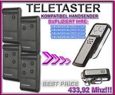 TELETASTER SKX2MD,SKX4MD 433,92MHz Kompatibel Handsender sender / KLONE