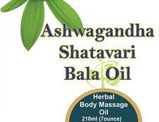 Ashwagandha Bala Shatavari Oil (For Massage & External use) 210 ml (7 oz)