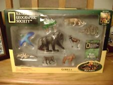 National Geographic Society (Gorilla & 8 mini figurines) Rain Forest by PVI