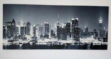 REMSCHEID Panorama Skyline SW div.Größen Kunstdruck Leinwand Wandbild