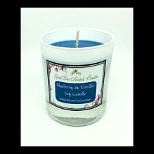Blueberry & Vanilla Scented Soy Candle - GeriBeri Scented Candles
