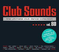 CLUB SOUNDS,VOL.80 - ALAN WALKER/CASCADA/KLAAS/W&W/+  3 CD NEU