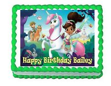 Nella the Princess Knight edible cake image topper frosting sheet decoration