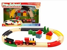 Train Sets & Parts 3-4 Years Wooden Pre-School Toys