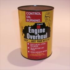 Liquid Engine Overhaul 1 Quart tin can Ph.D. Product YALE Engineering Chicago.