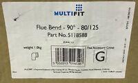 Baxi Multifit Flue Bend 90° 80/125 5118588 *New*