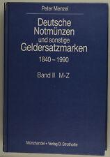 More details for  menzel: notmünzen und geldersatzmarken 1840-1990, 2 bände isbn 3980348210
