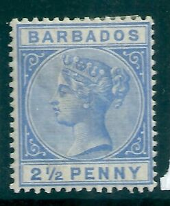 Barbados 1882-86 SG 93 MM