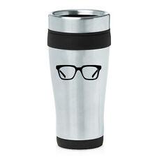 Stainless Steel Insulated 16 oz Travel Coffee Mug Cup Optometrist Optometry
