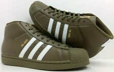 NEW ADIDAS ORIGINALS PRO MODEL SHOES AC7067 SHELL TOES HIGHTOPS SNEAKERS SIZE 10