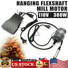 New listing 380W 4mm Hanging Flexible Shaft Mill Motor Jewelry Design & Repair Tool Kits110V