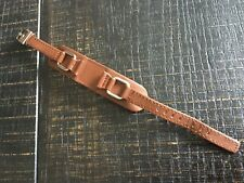 Fossil Original Spare Leather Strap JR9719 Wrist Band Brown Very good condition