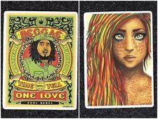 2 Reggae Music Artist Vinyl Stickers
