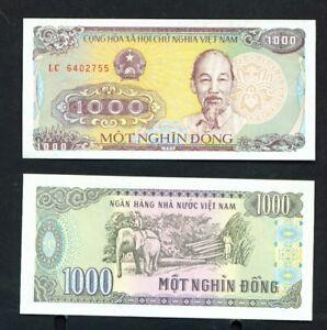 VIETNAM - 1988 1000 Dong UNC Banknote