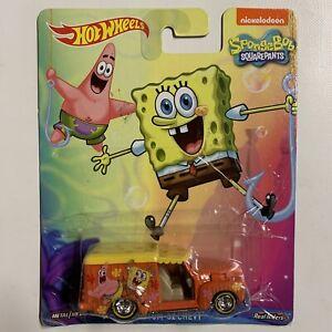 Sponge Bob Square Pants Hot Wheels Car Nickelodeon Custom 1952 Chevy 1:64 2014