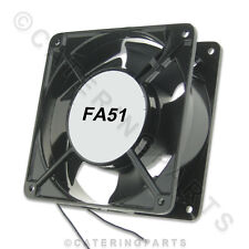 FA51 UNIVERSAL 240v SQUARE AXIAL COOLING FAN MOTOR 120mm x 120mm x 38mm