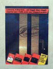 D981 - Advertising Pubblicità -1987 - GHEPARD PERSONALITA' DA VIAGGIO