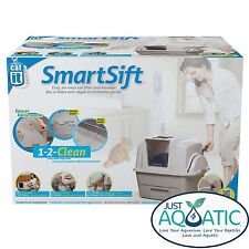 FREE SHIPPING Catit SmartSift Hooded Cat Litter Trays Toilet No Mess Maintenance