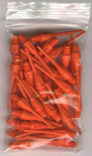 33 BURNT ORANGE Dimpled Soft Tip Points: 1.25in. length: For Soft Tip Darters