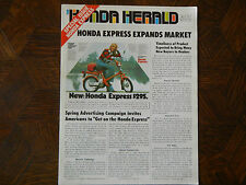 77 HONDA HERALD EXPRESS WINTER 1977 NOS OEM DEALER'S SALES SHEET BROCHURE