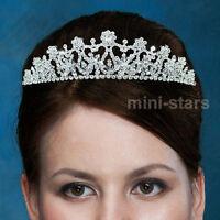 Bridal Wedding Tiara use Swarovski Crystal T1381