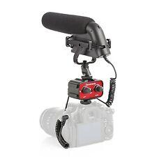 Movo DSLR Video Audio Kit w/Metal Shotgun Condensor Microphone & 2-Channel Mixer