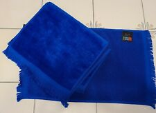 "ROYAL BLUE HAND TOWELS BY TERRY TOWN - 17""H X 11 1/2""W (4 IN A SET)"