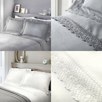 Serene RENAISSANCE Embroidered Lace Duvet Cover/Quilt Cover Set Bedding Bed Set