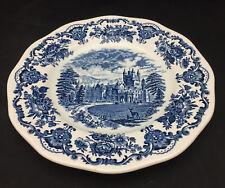 Wedgwood Royal Homes of Britian - Balmoral Castle Dinner Plate