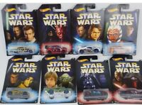 STAR WARS Hot Wheels RARE 💎FULL SET #1-8 MUST HAVE for collectors! Great gift🎁