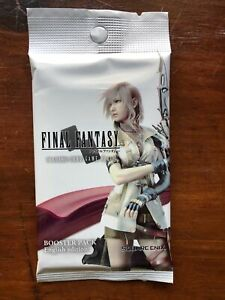 Final Fantasy TCG Opus 1 Booster pack - Sealed English - Opus I One Pack
