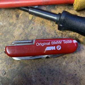 BMW M Pocket Knife Multi-Tool M3 M5 alpina hartge dinan 325i 3.0 e21 z3 e39 E9