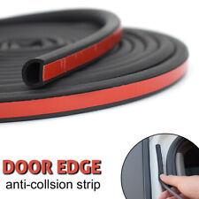 Car Door Guard Scratch Protector Seal Rubber Strips Universal D Shape 16FT 5M