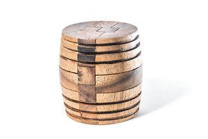 Kubiya Games | Japanese Barrel Puzzle - Interlocking Puzzle, Kumiki Puzzle