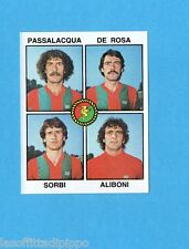 PANINI CALCIATORI 1979/80-Figurina n.486- PASSALACQUA+DE ROSA+SORBI -TERNANA-Rec
