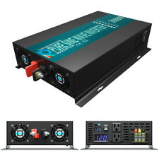 Power Inverter 3000 Watt Pure Sine Wave Inverter 12V to 110V 120V Car Truck Camp