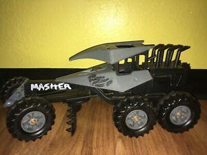 "Vintage 1986 Tonka #2603 Steel Monsters Roadgrader Masher Half Trak 18"" Inch EUC"