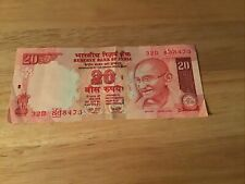 INDIAN 20 RUPEES 2007 MAHATMA GANDHI CURRENCY NOTE