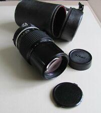 Nikon Nikkor 200mm / f 4 télé objectif Ai + Etui cuir