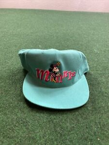 Vintage Disney Goofy Hats Character Minnie Mouse Adult SnapbacK NEW FAST SHIP