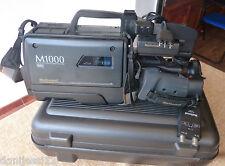Cámara National Nv M1000 VHS PAL, Sin batería, No sabemos si funciona